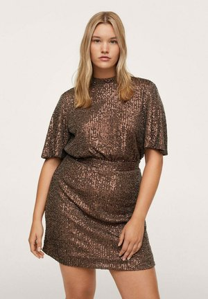 BONBOM - Cocktail dress / Party dress - bruin
