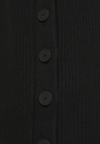 Marc O'Polo DENIM - DRESS WITH LONG SLEEVE AND BUTTON PLACKET ON SIDE SEAM - Jumper dress - black - 6