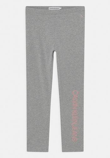 LOGO - Leggings - grey