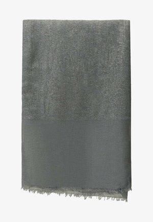 MIT LAMÉFÄDEN - Scarf - dark grey