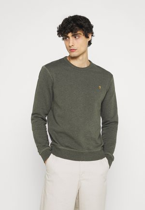 TIM CREW - Sweatshirt - evergreen marl