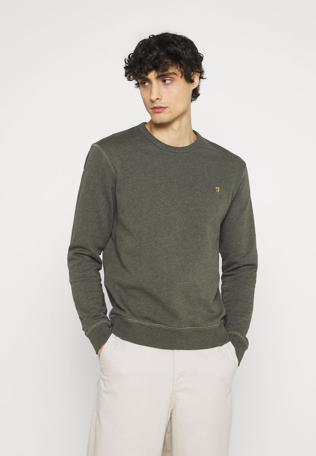 TIM CREW - Sweater - evergreen marl