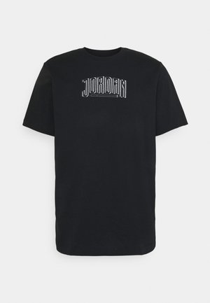 DNA CREW - Camiseta estampada - black
