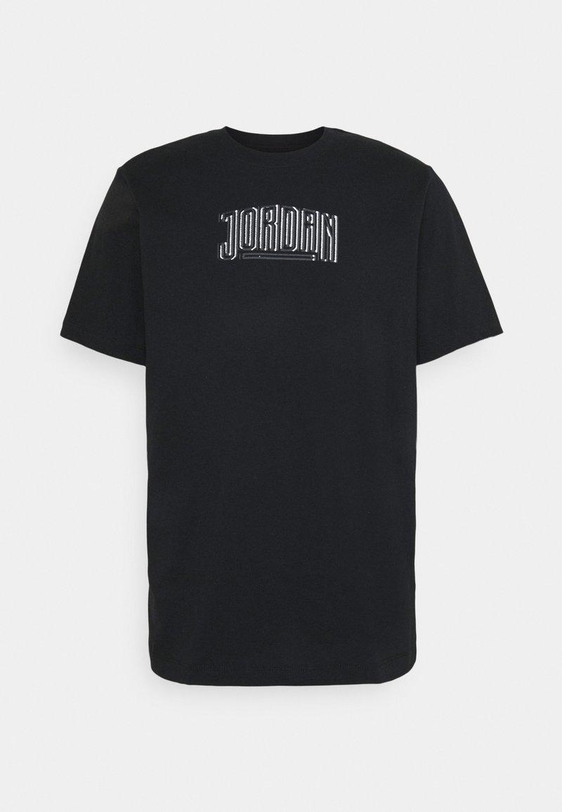 Jordan - DNA CREW - T-shirt med print - black