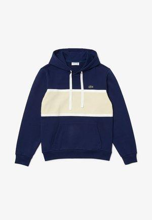 Sweatshirt - bleu / beige