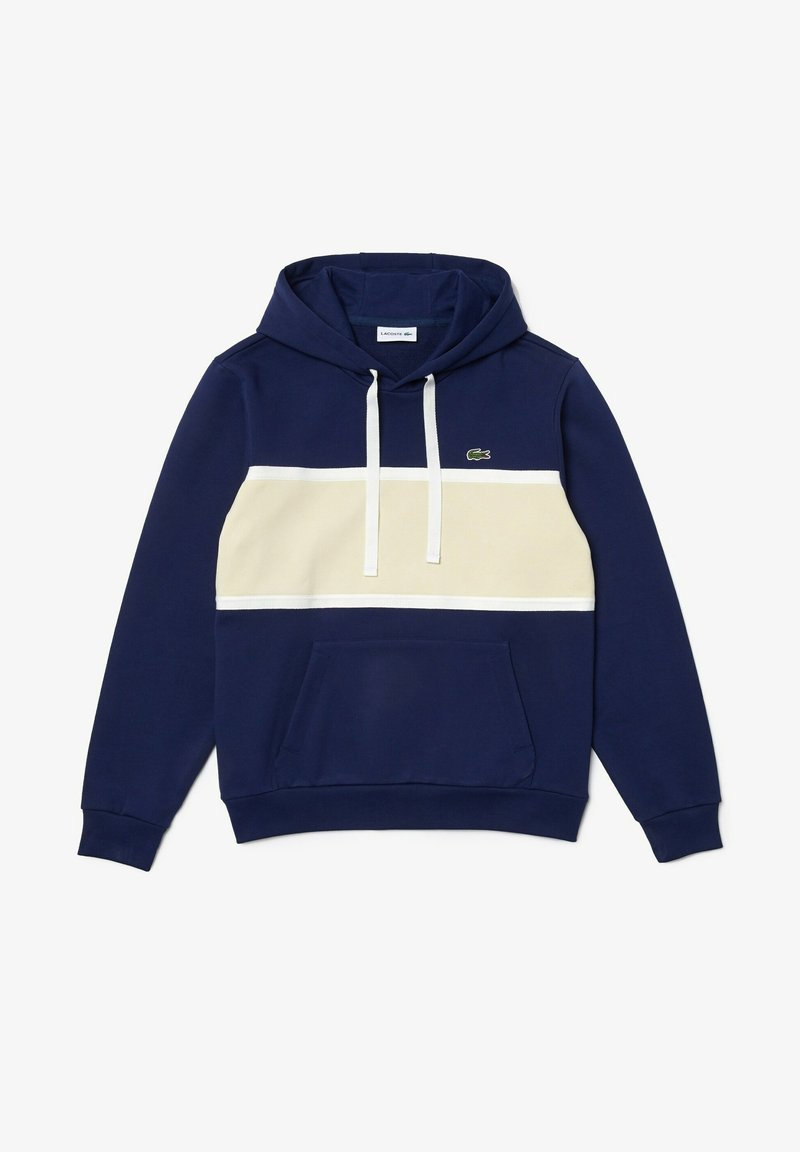 Lacoste - Sweatshirt - bleu / beige