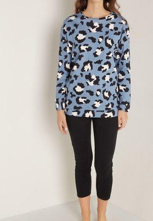 MIT FLECKENMUSTER - Pyjama set - aufdruck  sky blue dappled print