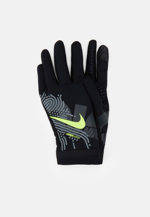 Gloves - black/white/volt