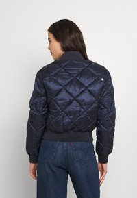 Tommy Jeans - TJW DIAMOND QUILTED BOMBER - Bomber Jacket - twilight navy - 2