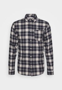 Selected Homme - SLHREGMATTHEW CHECK - Shirt - dark navy - 3