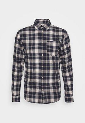 SLHREGMATTHEW CHECK - Shirt - dark navy