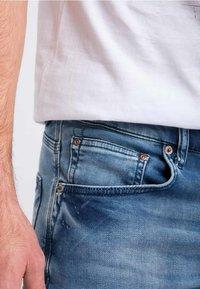 Petrol Industries - Denim shorts - light-blue - 3