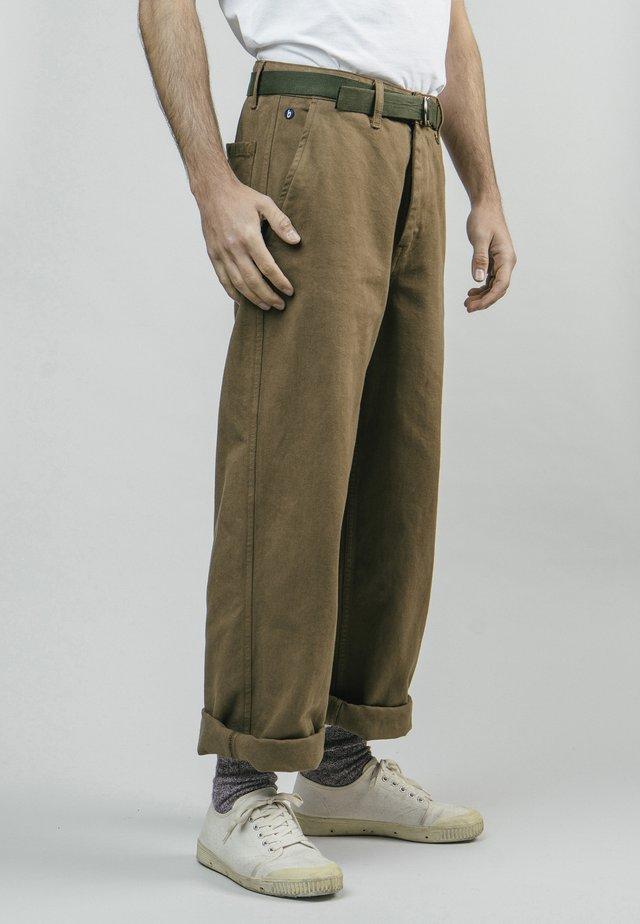 WORKWEAR - Tygbyxor - brown