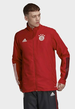 FC BAYERN PRESENTATION TRACK TOP - Club wear - red