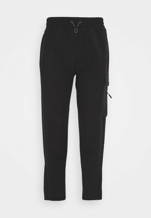 EDGEWORKS PANT - Tracksuit bottoms - black