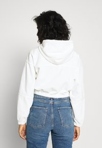 BDG Urban Outfitters - HOODED JACKET - Bomber Jacket - warm white - 2