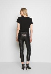 s.Oliver - Leggings - black - 2