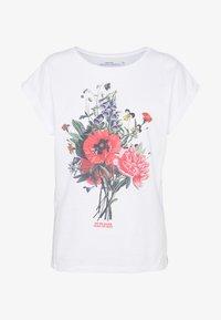 Dedicated - VISBY DO NO HARM - Print T-shirt - white - 4