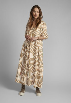 NUCREEK - Maxi dress - tannin