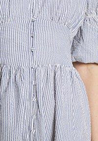 YAS - YASCAMA MIDI DRESS - Shirt dress - dusk blue - 5
