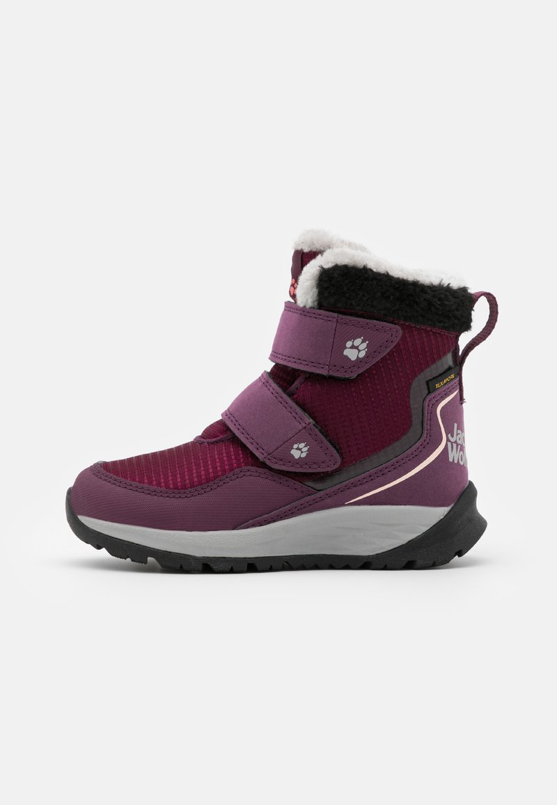 Jack Wolfskin - POLAR WOLF TEXAPORE MID VC UNISEX - Winter boots - purple/coral