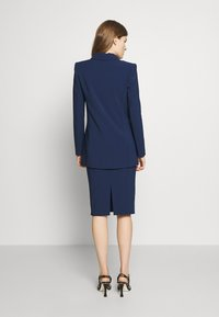 Elisabetta Franchi - Short coat - blue navy - 2