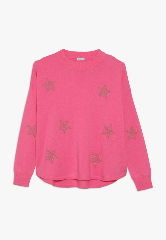 AMANDA STARS - Jersey de punto - flash rose