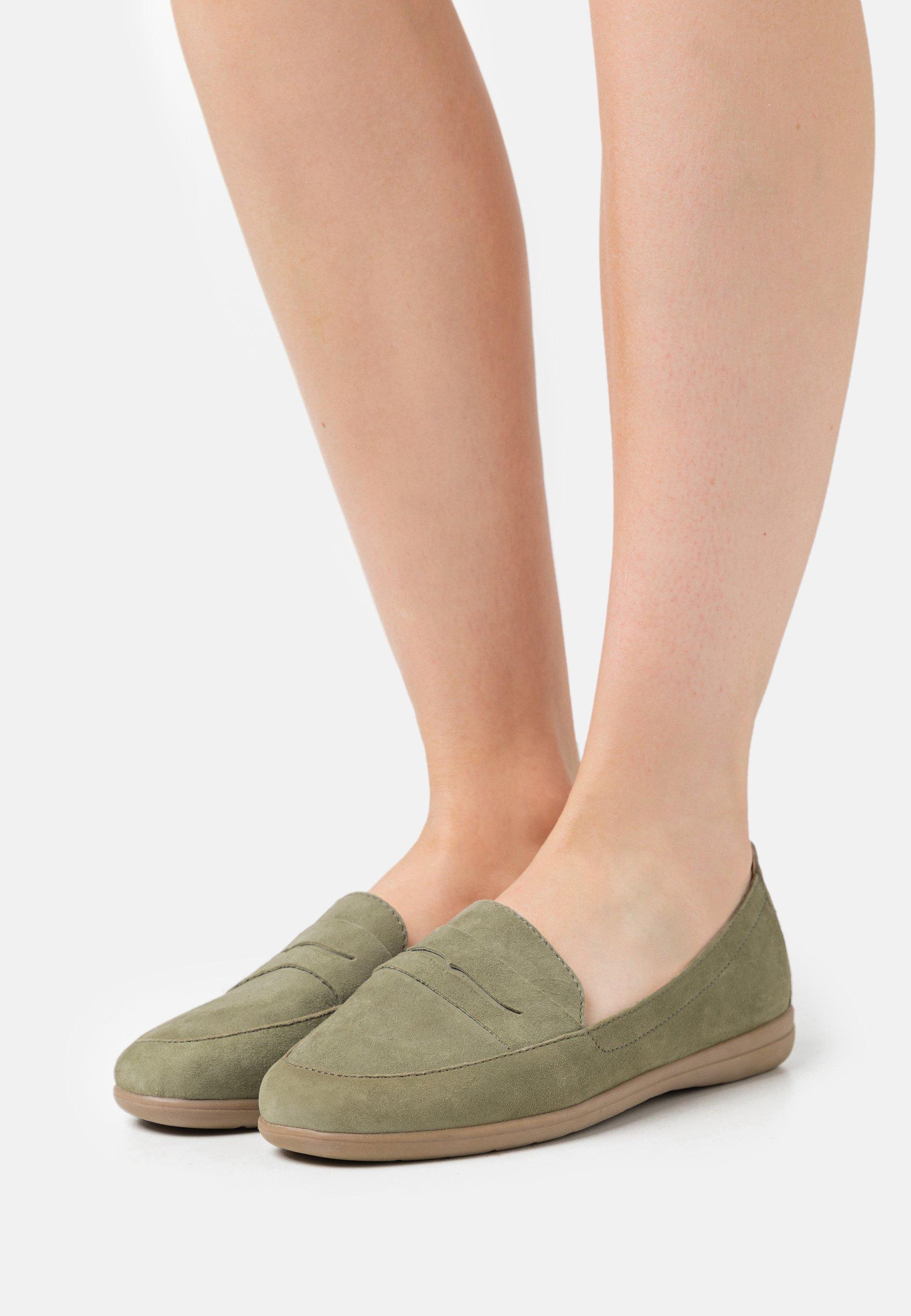 Women Slip-ons - pistachio