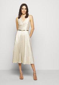 Lauren Ralph Lauren - IONIC DRESS  - Robe de soirée - new champagne - 0
