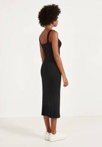 Bershka - Jumper dress - black - 1