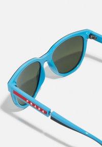 Prada Linea Rossa - Sunglasses - black/light blue - 4