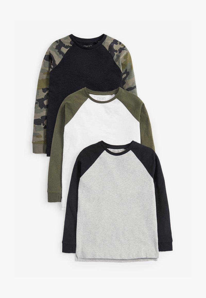 Next - 3 PACK - Long sleeved top - black