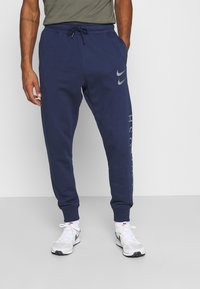 Nike Sportswear - PANT - Tracksuit bottoms - midnight navy/silver - 0