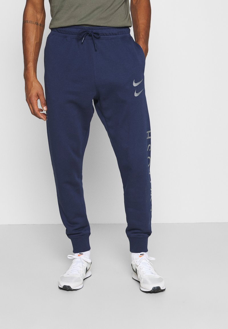 Nike Sportswear - PANT - Tracksuit bottoms - midnight navy/silver