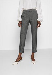 MAX&Co. - CARROZZA - Kalhoty - grey - 0