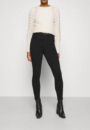 SUPER HI RISE JEGGING DREAM  - Jeans Skinny Fit - onyx black