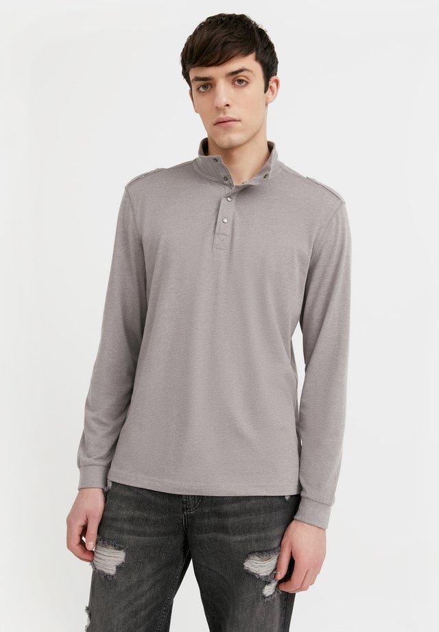 T-shirt à manches longues - grey melange