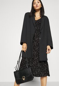 Anna Field - Jersey dress - black/white - 4
