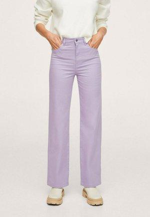JULIE - Trousers - licht/pastelpaars