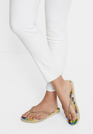 T-bar sandals - multicolor