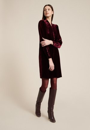 GESSETTO - Cocktail dress / Party dress - prugna/prugna