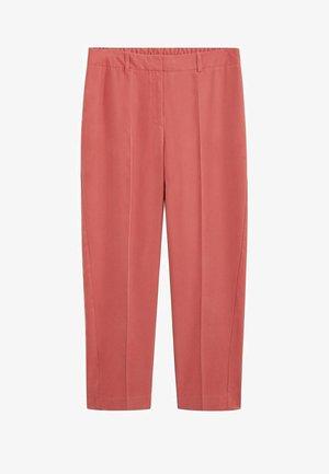 FLEW7 - Spodnie materiałowe - rosa