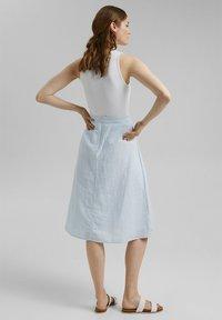 Esprit - A-line skirt - light blue - 2