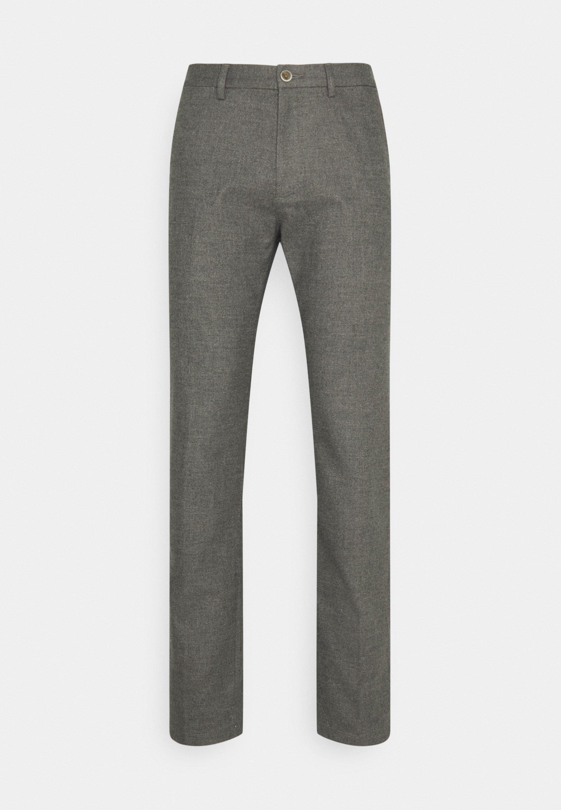 Men DENTON FAKE SOLID LOOK - Trousers