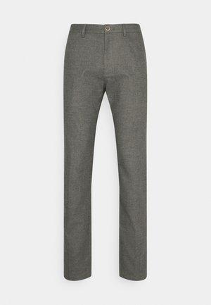 DENTON FAKE SOLID LOOK - Pantalon classique - iron grey