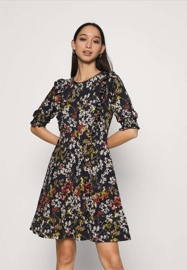 ONLZILLE FRILL DRESS - Robe d'été - night sky