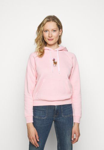 SEASONAL - Bluza z kapturem - resort pink
