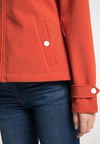 DreiMaster - Soft shell jacket - orange rot - 3