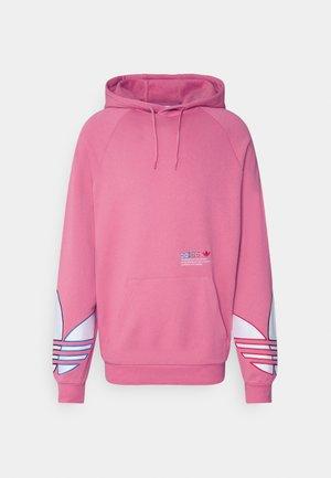 ADICOLOR TRICOLOR TREFOIL HOODIE - Hoodie - light pink