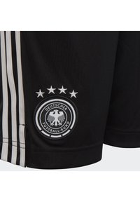 adidas Performance - DEUTSCHLAND DFB HEIMSHORTS - Sports shorts - black/white - 3